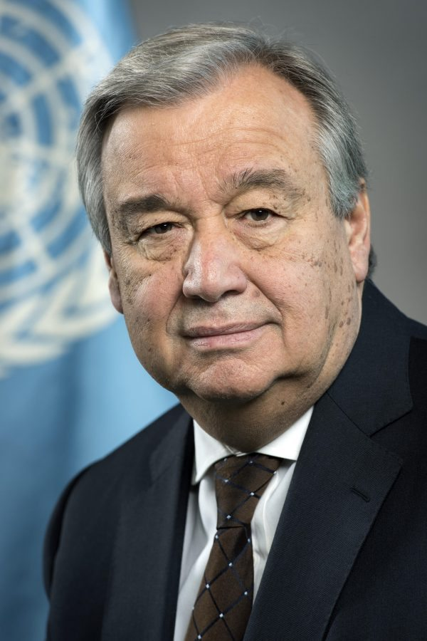 António Guterres official portrait