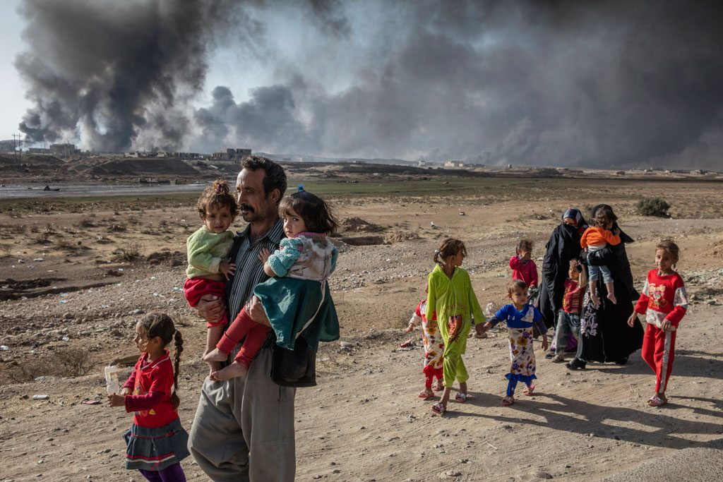 Mosul Photo: UNHCR/ Ivor Prickett