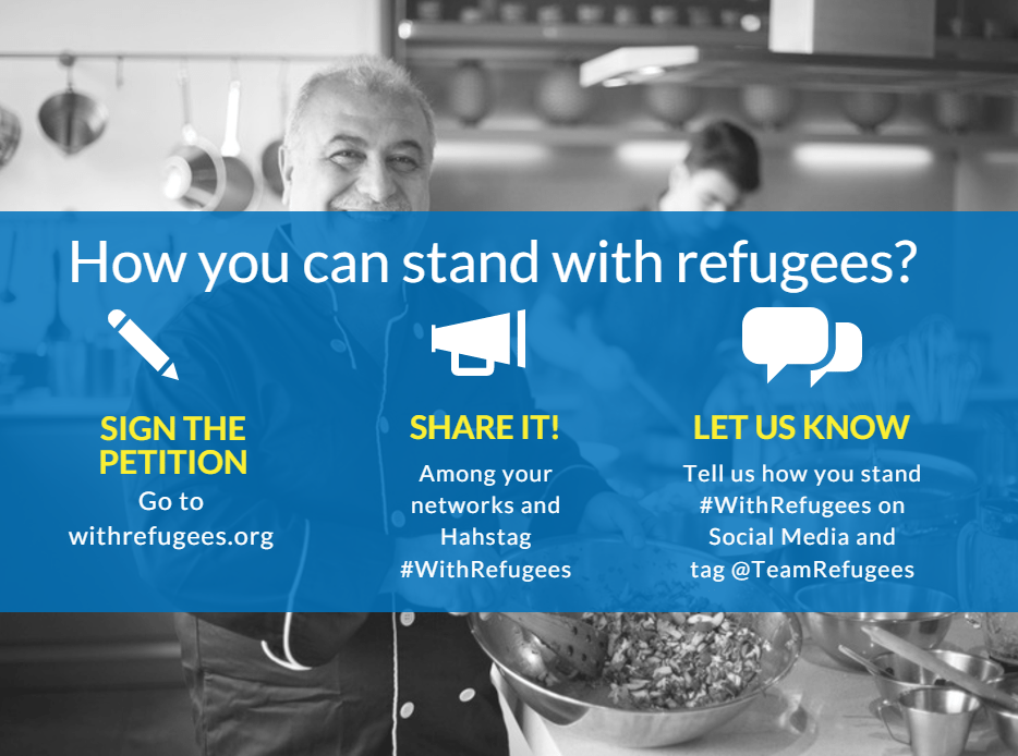 Stand #withrefugees