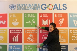 Ebru with SDG 3 and SDG 15