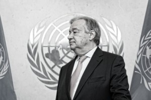 António Guterres's First Day at Work