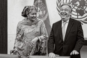 António Guterres's First Day